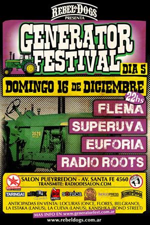 radio roots generator